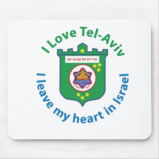 I Love Tel-Aviv Mouse Pad