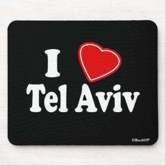 I Love Tel Aviv Mouse Pad