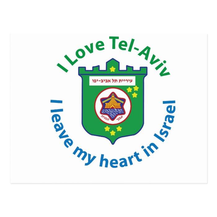 I Love Tel-Aviv Postcard