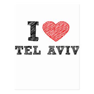 I Love Tel Aviv Post Cards