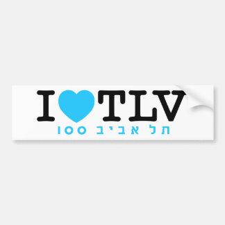 I love Tel Aviv | Sticker Bumper Stickers