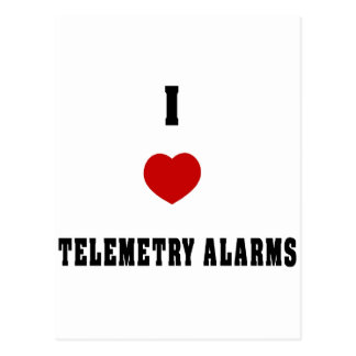 I Love Telemetry Alarms Postcards