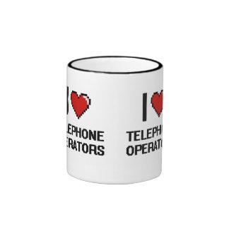 I love Telephone Operators Ringer Coffee Mug