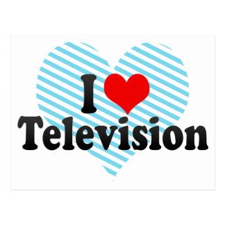I Love Television Postcard