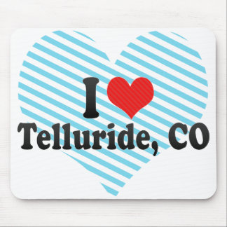 I Love Telluride, CO Mouse Pad