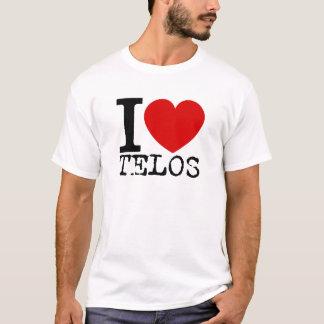 I Love Telos (Black) T-Shirt