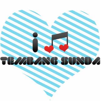 I Love Tembang Sunda Photo Cutouts