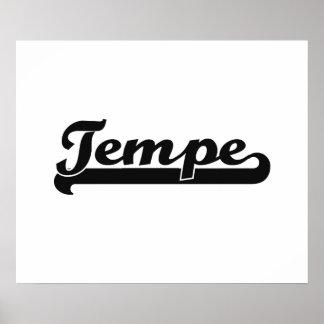 I love Tempe Arizona Classic Design Poster