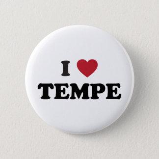 I Love Tempe Arizona Pinback Button