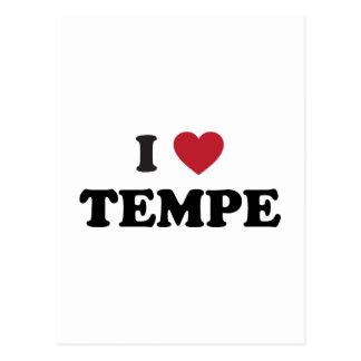 I Love Tempe Arizona Postcard