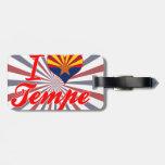 I Love Tempe, Arizona Travel Bag Tag