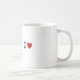 I LOVE Template Coffee Mug