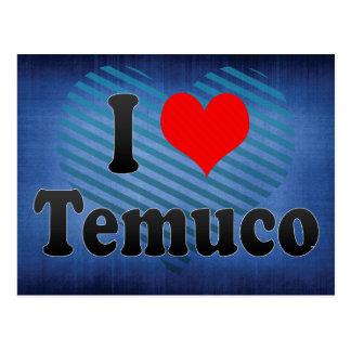 I Love Temuco, Chile Postcards