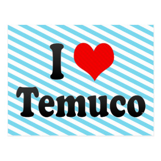 I Love Temuco, Chile Post Cards