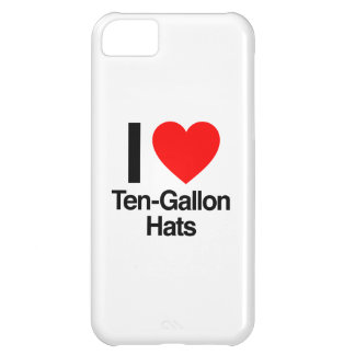 i love ten gallon hats cover for iPhone 5C