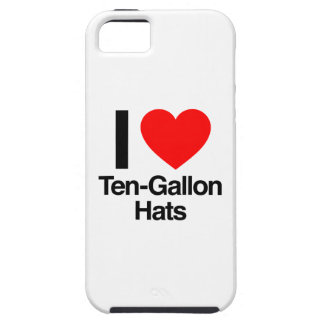 i love ten gallon hats iPhone 5 covers
