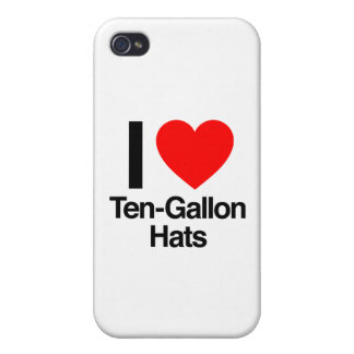 i love ten gallon hats iPhone 4/4S case
