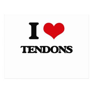I love Tendons Postcard