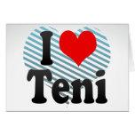 I Love Teni, India Cards