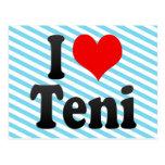 I Love Teni, India Postcards