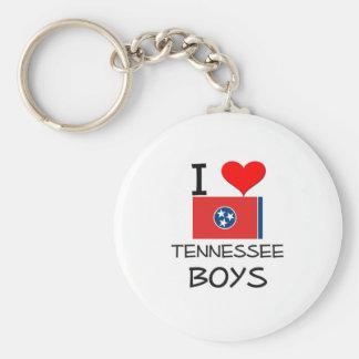 I Love Tennessee Boys Keychain
