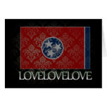 I love Tennessee Cool Greeting Card