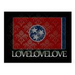 I love Tennessee Cool Postcard