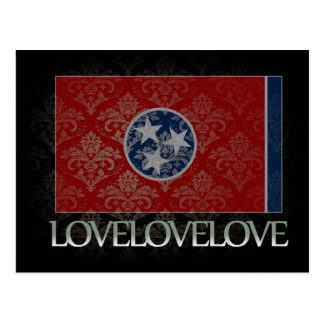 I love Tennessee Cool Postcard
