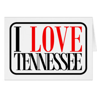 I Love Tennessee Design Card