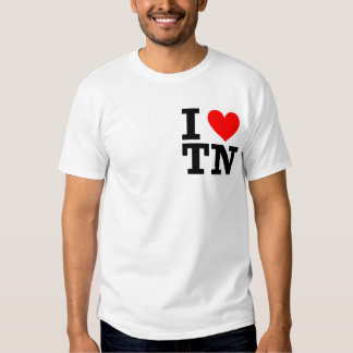 I Love Tennessee Design Shirt