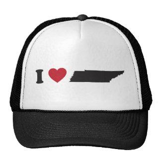 I Love Tennessee Trucker Hats