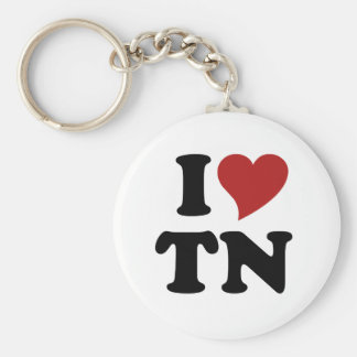 I Love Tennessee Keychain