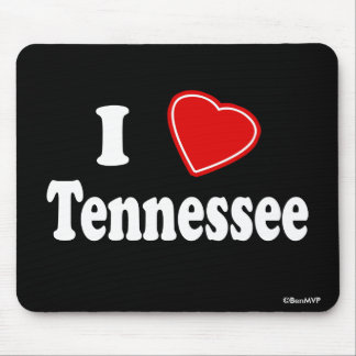 I Love Tennessee Mouse Pad