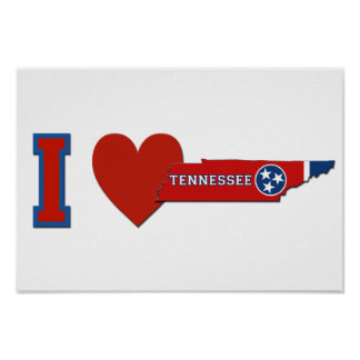 I Love Tennessee Poster