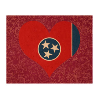 I Love Tennessee Cork Fabric
