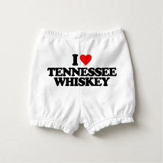 I LOVE TENNESSEE WHISKEY DIAPER COVER