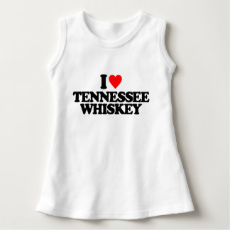 I LOVE TENNESSEE WHISKEY DRESS
