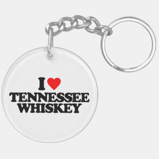 I LOVE TENNESSEE WHISKEY KEYCHAINS