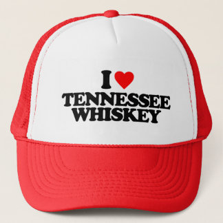 I LOVE TENNESSEE WHISKEY TRUCKER HAT