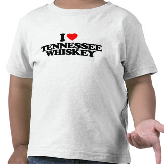I LOVE TENNESSEE WHISKEY T-SHIRT