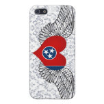 I Love Tennessee -wings Cover For iPhone 5