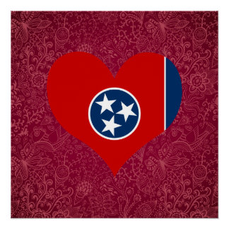 I Love Tennessee Perfect Poster