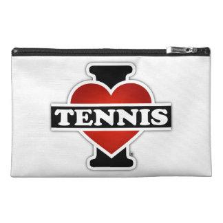 I Love Tennis Travel Accessories Bag