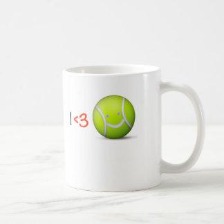 I love tennis coffee mug