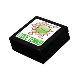 I Love Tennis Jewelry Box