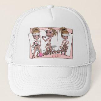 I love tennis hat - Tennis Fan Hat