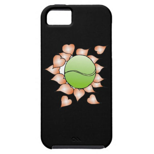 I Love Tennis iPhone 5 Cover