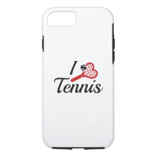 I Love Tennis iPhone 8/7 Case