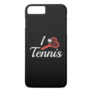 I Love Tennis iPhone 8 Plus/7 Plus Case