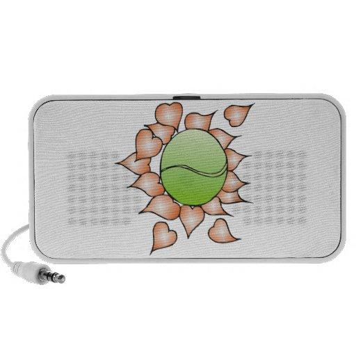 I Love Tennis iPod Speakers